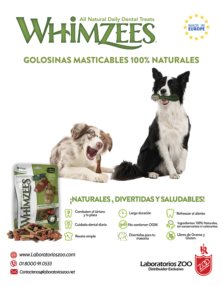 whimzees labortorios zoo pet industry revista veterinaria pet shop ...