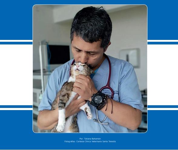 Carlos Hernán Rodríguez Pineda, un emprendedor en clínica veterinaria