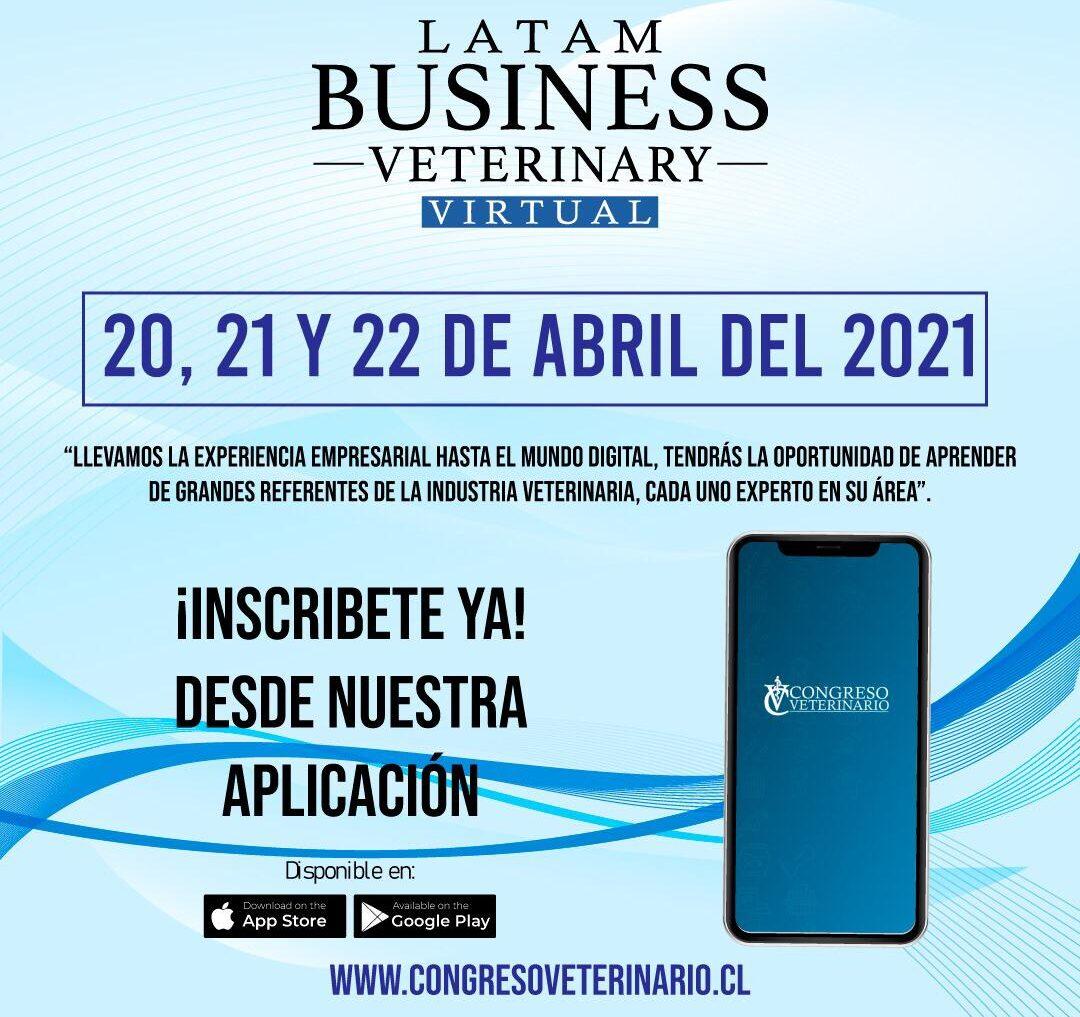 Prográmese para el Latam Bussines Veterinary
