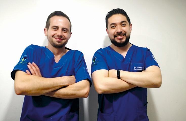 Camilo Vargas y Daniel Cetina, de médicos a empresarios de Dogtor House